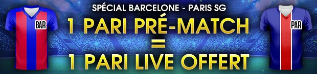 Pariez sur Barcelone/Paris Saint-Germain avec NetBet