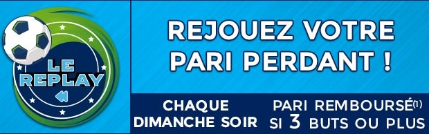 5€ remboursé sur le match de L1 du dimanche soir avec ParionsSport