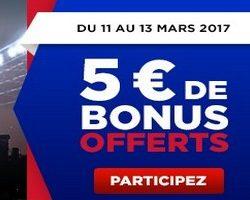 5€ offerts par Betclic sur les 1/4 de finale de la FA Cup