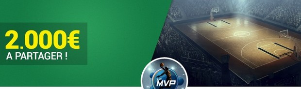 2.000€ mis en jeu par Unibet sur la NBA en mars 2017