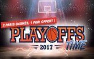 Pariez en live sur les Playoffs 2017 de NBA avec Winamax : Jusqu'à 20 euros offerts