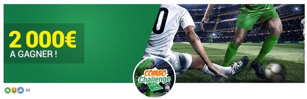 Pariez en combo sur le foot avec Unibet en avril