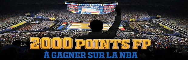 Jusqu'à 40€ offerts par France Pari pour vos combinés NBA