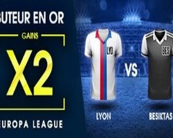 Buteur en Or sur NetBet pour Lyon-Beisktas en Ligue Europa