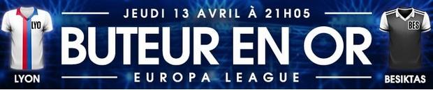 50€ offerts par NetBet pour Lyon-Besiktas en Ligue Europa