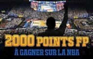 Misez en combiné sur la NBA du 3 au 10/04 avec France-pari.fr et remportez jusqu'à 2.000 points FP soit 40€