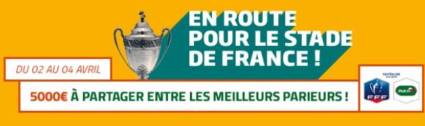 Pariez sur les 1/4 de finale de la Coupe de France avec PMU