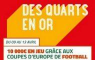 Pariez sur les 1/4 de finale aller de Ligue des Champions et Ligue Europa dont Dortmund/Monaco avec PMU