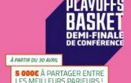 Pariez sur les demi-finales de conférence des Playoffs 2017 de NBA avec PMU.fr : 5.000€ mis en jeu