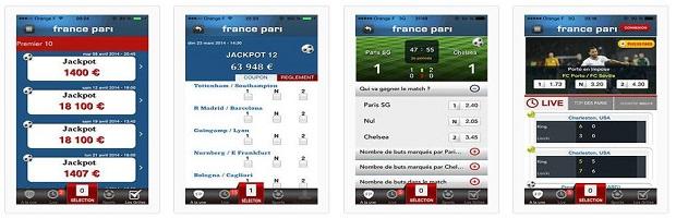 Téléchargez l'appli iPhone de France Pari