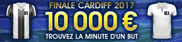 10.000€ mis en jeu par NetBet pour la finale de la LDC