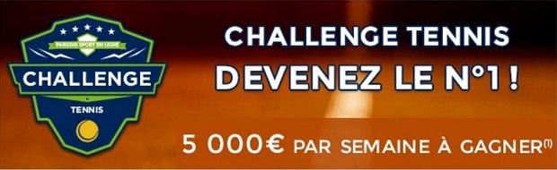 Internationaux de France sur Parions Sport du 28 mai au 11 juin