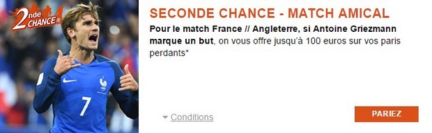 Pariez sur France/Angleterre avec PMU.fr