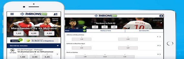 Application ParionsSport mobile pour parier du téléphone