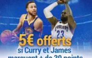Pariez sur les matchs de la finale NBA 2017 Golden State Warriors/Cleveland Cavaliers avec France-Pari.fr