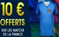 Pariez en pré-match sur France-Angleterre avec NetBet : Votre 1er pari Live remboursé à hauteur de 10€
