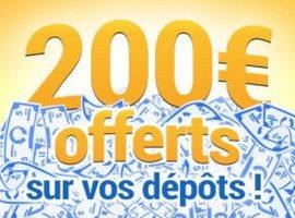 France Pari vous propose une offre dépôt d'argent du 24/06 au 09/07
