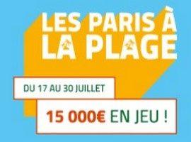 PMU met 15.000€ en jeu pour Les paris à la plage