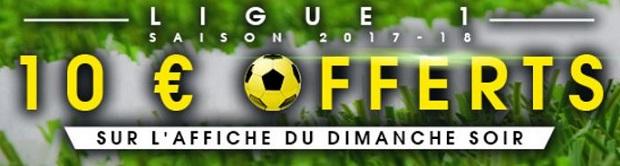 Pariez sur l L1 de foot avec NetBet France