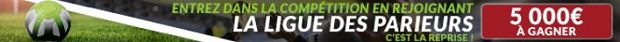 Pronostiquez la reprise du foot européen entre le 4 et le 18 août sur ZEbet