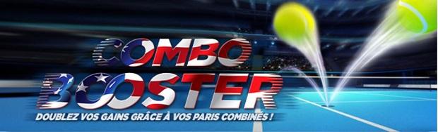 Offre Combo Booster Winamax sur l'US Open 2017