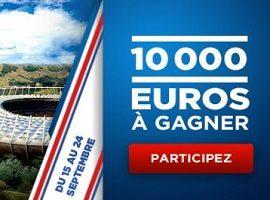 Jackpot de 10.000 euros à partager avec le challenge foot de Betclic au mois de septembre