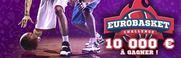 10.000€ mis en jeu par Winamax pour l'Euro de basket 2017