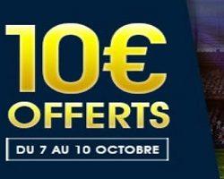 Jusqu'à 10 € de cashback à obtenir avec NetBet pour le match du 10 octobre entre la France et le Belarus