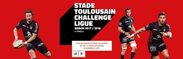Challenge rugby spécial Stade Toulousain pour la saison 2017/2018 sur PMU