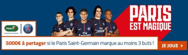 5.000€ mis en jeu par PMU.fr pour Anderlecht-PSG en Ligue des Champions