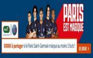 Pariez sur Anderlecht-PSG en Ligue des Champions avec PMU : 5.000€ mis en jeu si Paris inscrit au moins 3 buts