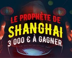 Masters 1000 de Shanghai sur Winamax