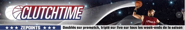 Challenge NBA Clutchtime sur ZEbet