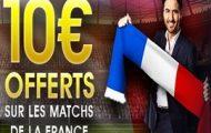 Misez sur Allemagne-France le 14 novembre 2017 avec NetBet.fr : Jusqu'à 10€ remboursés sur le match amical