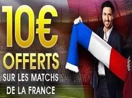 NetBet vous offre 10€ sur Allemagne-France le 14/11