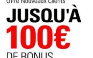 Bonus BetStars : profitez de 100€ offerts à l'inscription sur le site de paris sportifs de PokerStars