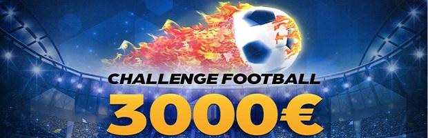3.000€ à partager sur France Pari en misant sur le foot jusqu'au 3 décembre 2017