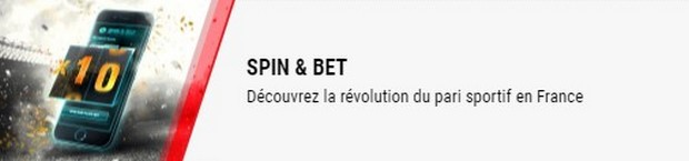 Multipliez vos gains par 10 avec les paris Spin and Bet de BetStars
