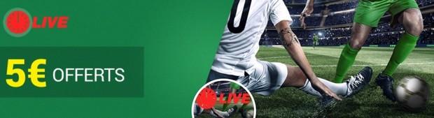 5€ offerts par Unibet pour la 19ème journée de Ligue 1