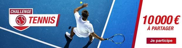 Open d'Australie de tennis entre le 14 et le 28/01/2018 sur Betclic