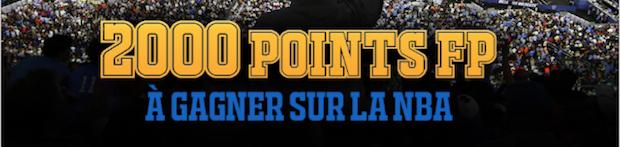 Pariez en combiné sur la NBA avec France Pari et gagnez des points FP bonus