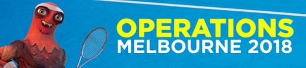 Opérations Melbourne 2018 sur ZEbet entre le 15 et le 28 janvier