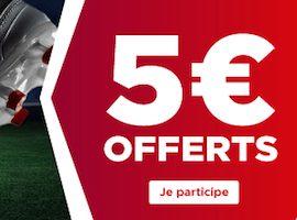 Bonus de 5€ sur les huitièmes aller de la Champions League grâce à Betclic