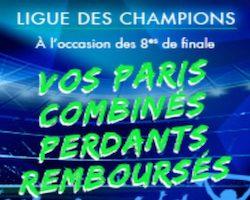 Cashback de 10€ à gagner sur Genybet pour les huitièmes de finale aller de la Champions League