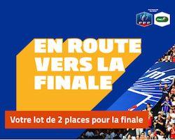 """Offre """"En route pour la finale"""" sur PMU avec 5.000€ à partager et des places pour le stade de France à gagner"""