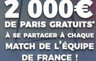 ParionsSport met en jeu 2.000€ à chaque match des Bleus au Tournoi des 6 Nations 2018