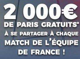 Jackpot de 2.000€ à partager à chaque match de l'équipe de France de Rugby entre le 2 février et le 17 mars 2018