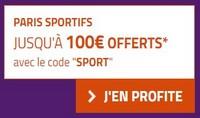 le code promotionnel sport de PMU
