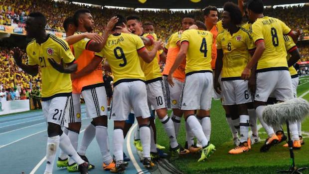 L'équipe de Colombie s'est qualifiée pour la Coupe du Monde de Foot