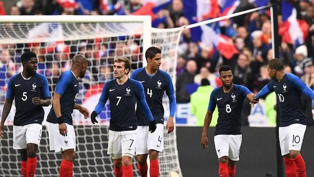 L'équipe de France de foot jouera face à la Russie le 27 mars